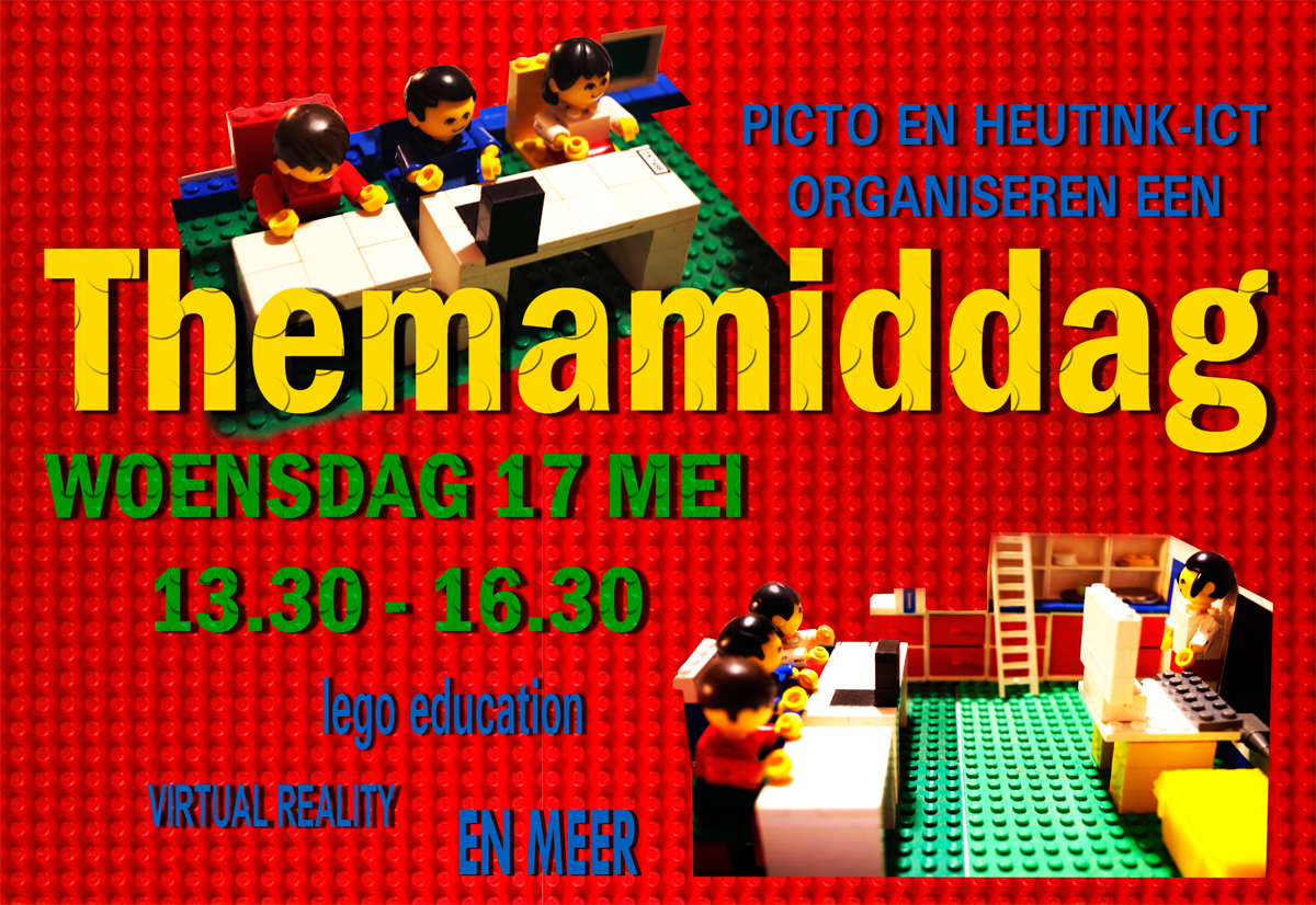 Themamiddag Lego Education woensdag 17 mei