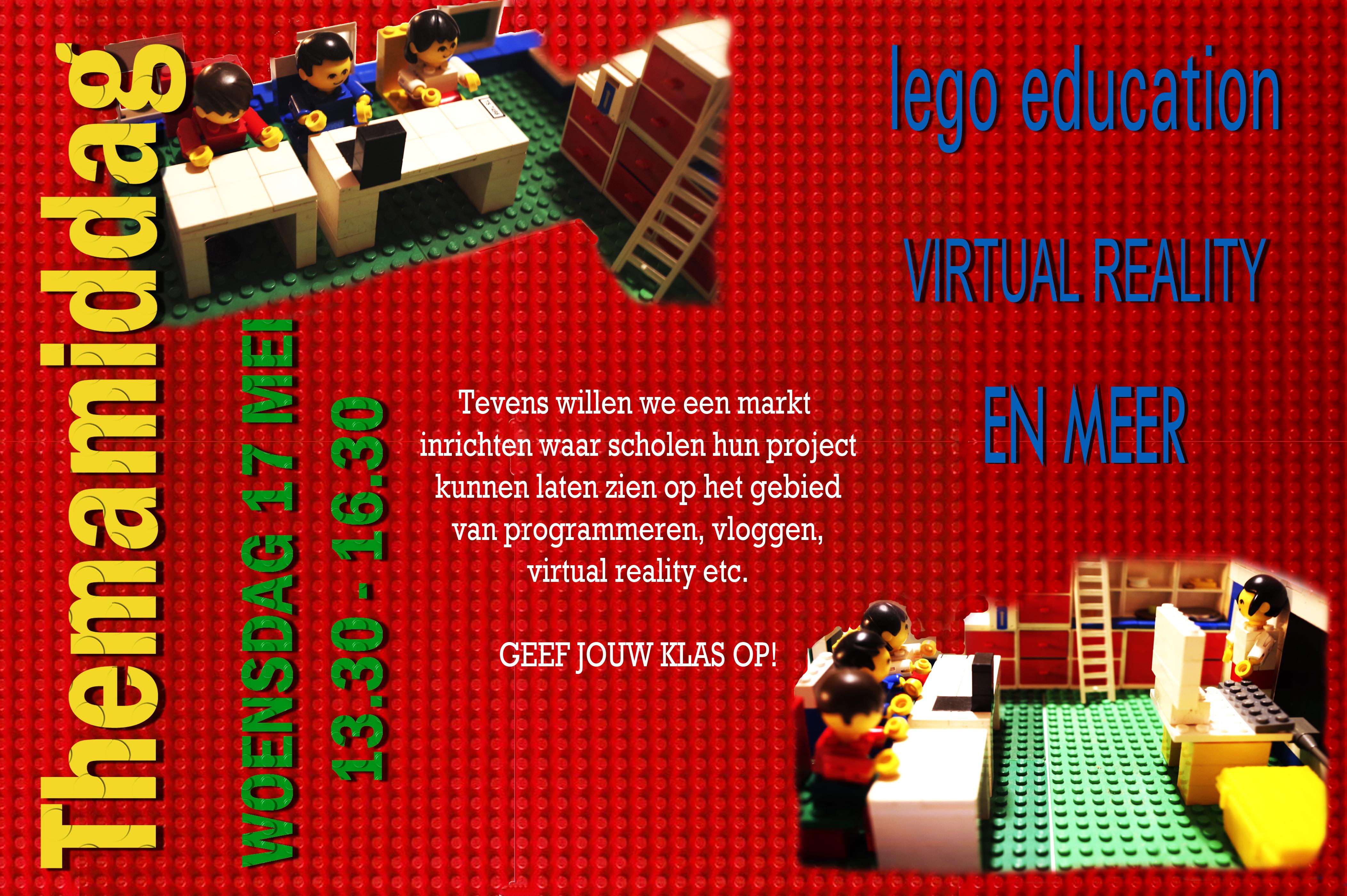 Themamiddag woensdag 17 mei 2017: LEGO EDUCATION