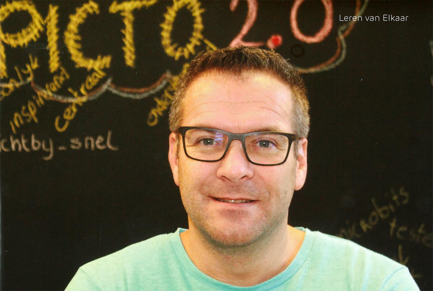 """Interview met Peter Vermeij in de rubriek """"Leren van elkaar"""" in APS IT info"""